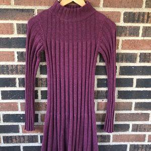 Fig High Neck Mini Sweater Dress - Size XS